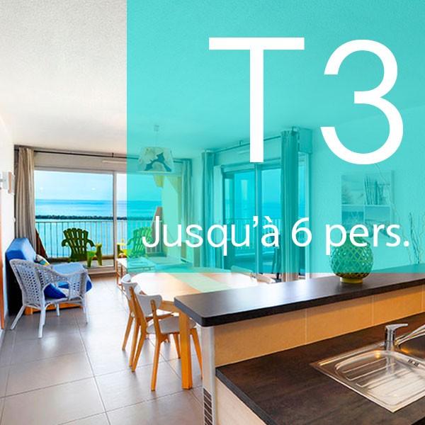 Découvrez nos appartements T3