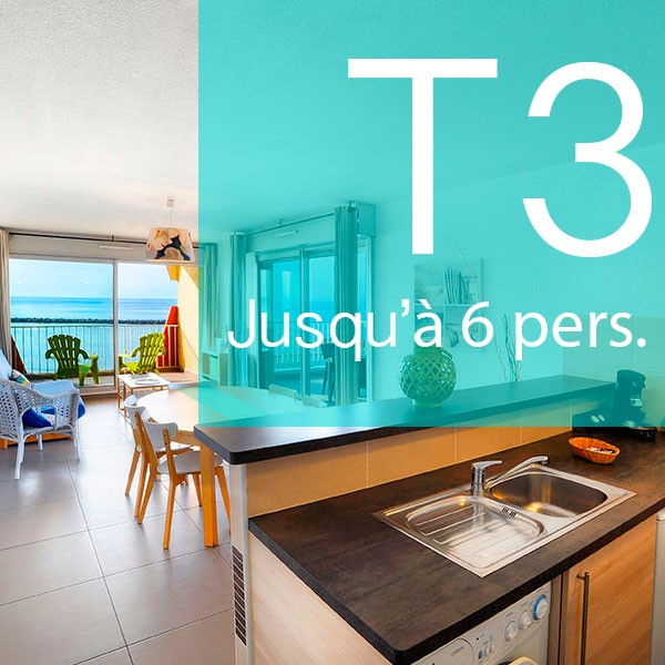 T3 RENTAL, sea view