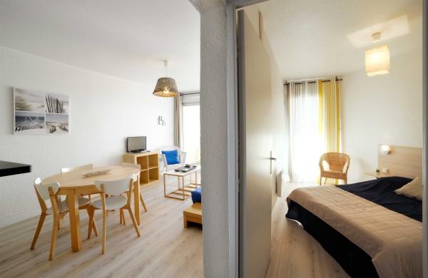T2 – séjour et chambre