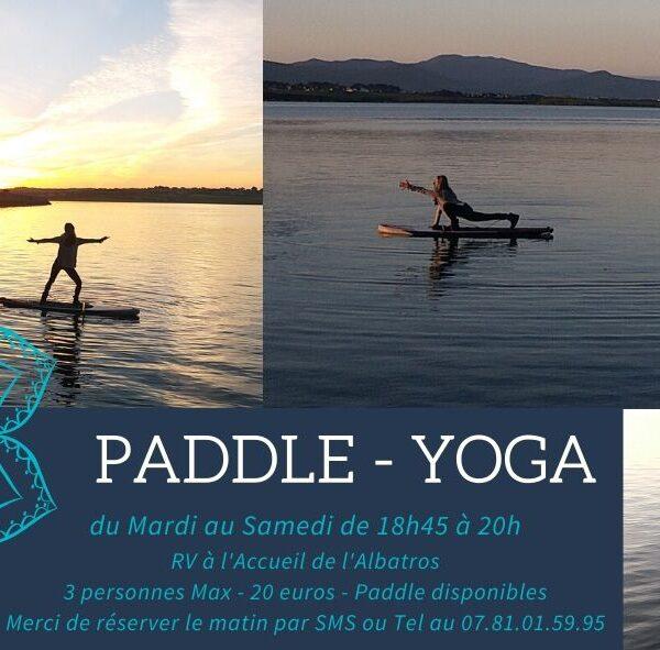 Eté 2020 Paddle Yoga